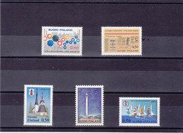 FINLANDE 1971 Yvert 649 + 655-658 NEUF** MNH - Finlande