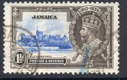 Jamaica GV 1935 Silver Jubilee 1½d Value, Used, SG 115 (A) - Jamaica (...-1961)