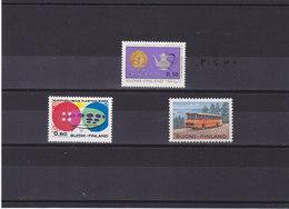 FINLANDE 1971 Yvert 661-662 + 664 NEUF** MNH - Finlande