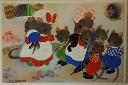 Willy Schermele // 10x15 // Human... Mice - De Muizenvijfling No 02 / 19?? - Schermele, Willy