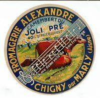 "Et Fromagerie Alexandre - Camembert Du JOLI PRE - "" Ah Ma'dame Voilà Du Bopn Fromage ...."" - Quesos"