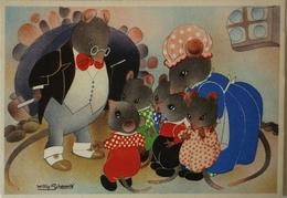Willy Schermele // 10x15 // Human... Mice - De Muizenvijfling No 07 / 19?? - Schermele, Willy