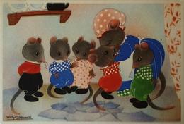 Willy Schermele // 10x15 // Human... Mice - De Muizenvijfling No 08 / 19?? - Schermele, Willy