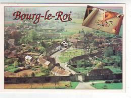 72. BOURG LE ROI . SON HISTOIRE . SA BRODERIE . PAR LA PORTE SAINT REMY . BRODERIE AU POINT DE BEAUVAIS - France