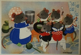 Willy Schermele // 10x15 // Human... Mice - De Muizenvijfling No 14 / 19?? - Schermele, Willy