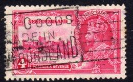 Newfoundland GV 1935 Silver Jubilee 4c Value, Used, SG 250 (A) - Newfoundland