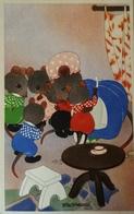 Willy Schermele // 10x15 // Human... Mice - De Muizenvijfling No 16 / 19?? - Schermele, Willy