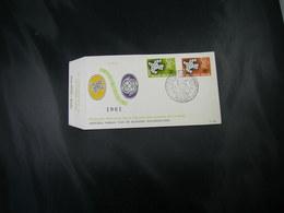 """BELG.1961 1193/1194 FDC ( Liége )  : """" EUROPA 61 """" - FDC"""
