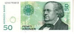 Norway P.46d 50 Kroner 2011 Unc - Norway