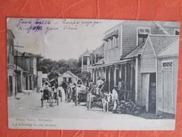 Street Scene Barbados . Dos 1900 - Barbades