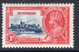 St. Vincent GV 1935 Silver Jubilee 1d Value, Hinged Mint, SG 142 (A) - St.Vincent (...-1979)