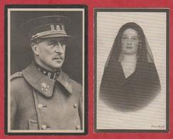 R.I.P. - BID - Zijne Majesteit ALBERT - Sa Majesté La Reine Astrid. - Images Religieuses