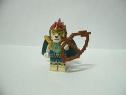 LEGO MINIFIGURES LEGENDS OF CHIMA LAVAL+MANTELLO E ARMA. - Lego
