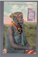 Cote D'Ivoire Femme Malinke Fortier 1914 OLD POSTCARD - Ivoorkust
