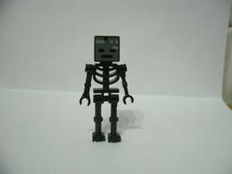 LEGO MINIFIGURES Minecraft Personaggio-Wither SKELETON SCHELETRO NERO - Lego