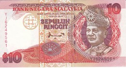 BILLETE DE MALASIA DE 10 RINNGIT DEL AÑO 1995  (BANKNOTE) - Malaysia