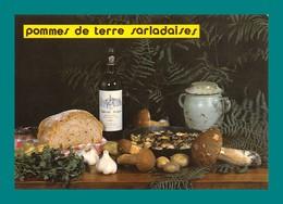 Recette Pommes De Terre Sarladaises Cepes, Pain, Bergerac ( Champignons, Funghi, Pilz ) - Recettes (cuisine)