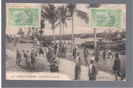 Cote D'Ivoire Grand Bassam /Au Bord De La Lagune 1914 OLD POSTCARD - Ivoorkust