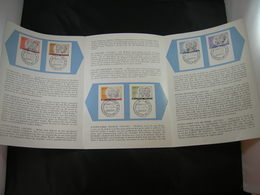 "BELG.1961 1176/1181 FDC Postfolder NL.  : "" Culturele Uitgifte /Culturelle "" - FDC"