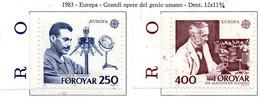 PIA  -  FAROER  -  1983  :  Europa  (Yv 78-79) - Europa-CEPT