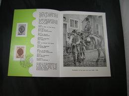 """BELG.1961 1175 FDC Postfolder NL.( Hasselt ): """" Journée Du Timbre /Dag Vd Postzegel 1961  """" - FDC"""