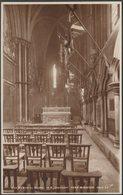 War Memorial Chapel, York Minster, Yorkshire, C.1930 - Walter Scott RP Postcard - York