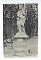 CPA Paris 6 Jardin Du Luxembourg Statue De Sainte Bathilde - Arrondissement: 06
