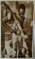 Gold Coast // Rare Photo Card // Harvesting Cocao (Cacao) 1947 - Ghana - Gold Coast
