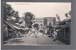 PAKISTAN Lahore, The Lohari Gate Ca 1910 OLD POSTCARD - Pakistan