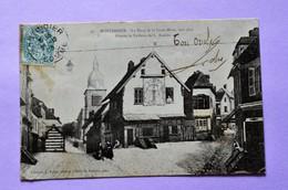 Montdidier - La Place De La Croix Bleue Vers 1845 - Montdidier