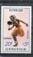Lengue : Danse Traditionnelle - République Centrafricaine - 1971 - Centrafricaine (République)