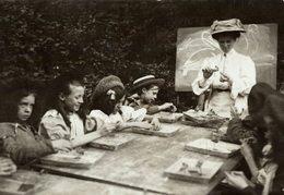 SCHOOL ESCUELA ECOLE VACATION SCHOOL    NIÑOS KIDS   Fonds Victor FORBIN (1864-1947) - Profesiones