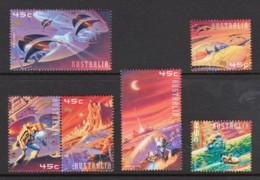 Australia 2000 Space Set Of 6 Used - 2000-09 Elizabeth II