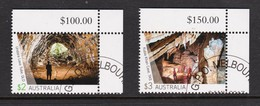 Australia 2017 Caves High Values CTO - Used Stamps