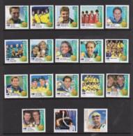 Australia 2000 Olympic Games Gold Medal Winners Set Of 18 Used - 2000-09 Elizabeth II