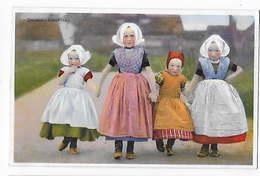4 Cartes Postales PAYS BAS - Costumes Folkloriques      BA - Costumes