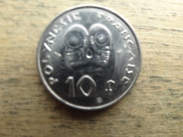Polynesie  Francaise  10  Francs  1996  Km 8 - Polynésie Française