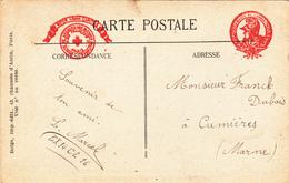 CONSTRUCTEUR De PRESSOIRS, Mr DUBOIS à CUMIERES - A Voir 2 Scans - Autres Communes
