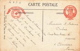 CONSTRUCTEUR De PRESSOIRS, Mr DUBOIS à CUMIERES - A Voir 2 Scans - France
