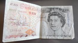 Billet De 10 Pound £ 1993 Royaume Uni - 1952-… : Elizabeth II
