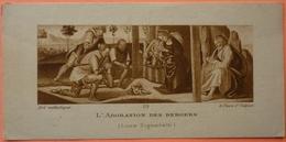 IMAGE PIEUSE ANCIENNE - Art Catholique - L' ADORATION DES BERGERS - 119 - LUCA SIGNORELLI - SCANS RECTO/VERSO - Devotion Images