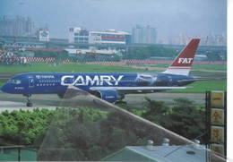 FAT Far Eastern Air Transport Livery Toyota Company B757  B-27011 At Taipei - 1946-....: Era Moderna