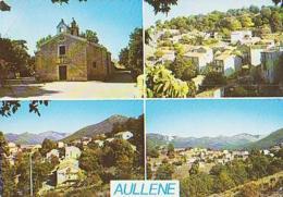 Corse        H607        AULLENE ( 4 Vues ) Dont église - Sonstige Gemeinden