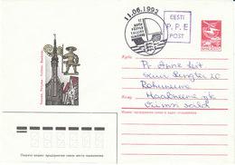 Estland 1992 Aufbrauch Von SU- Ganzsachenumschlägen Mit Handstempel  P.P.E  Von TALLINN - Estland