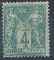 N°63 OBLITERATION LEGERE - 1876-1878 Sage (Type I)