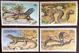 Lesotho 1979 Reptiles MNH - Reptiles & Batraciens