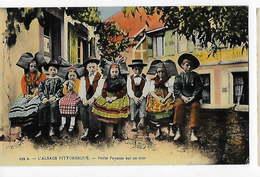 FRANCE - 2 Cartes Postales De L'ALSACE PITTORESQUE  BA - Folklore