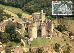 Frankreich  1976  MiNr. 1976  Maximumkarte ; Château Fort De Bonaguil - Schlösser U. Burgen