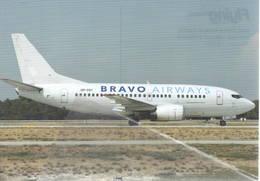 Bravo Airways B737-500  UR-CGY At AYT Turkey B 737 - 1946-....: Era Moderna