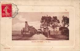 CPA SALINS-d'HYERES - La Gare - Hyeres